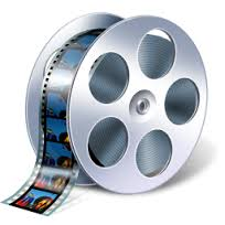 filmstrip on reel