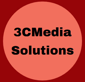 Circle that says 3 c media solutions